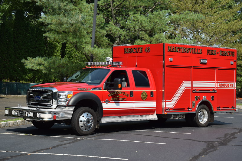 Martinsville Fire Department Rescue 43