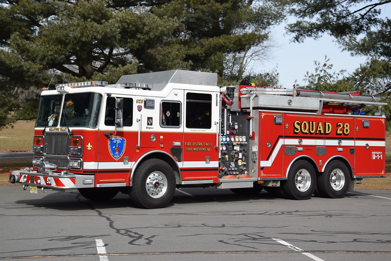 Millstone Valley Fire Department Squad 28