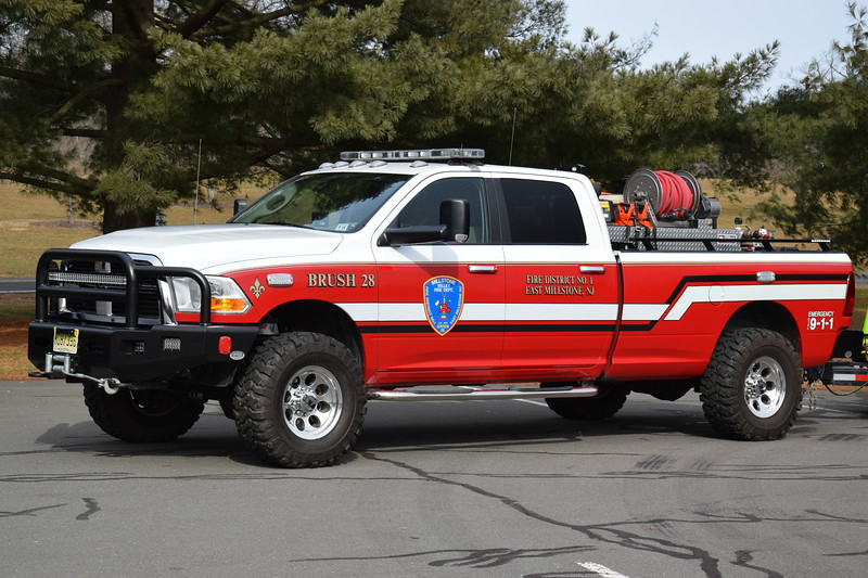 Millstone Valley Fire Department Brush 28