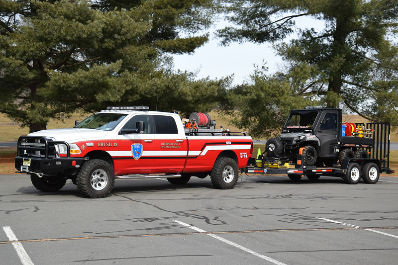 Millstone Valley Fire Department Brush 28 with Ranger 28