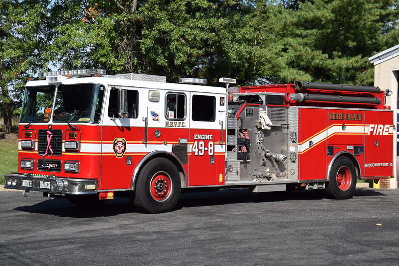 North Branch Fire Company Engine 49-8