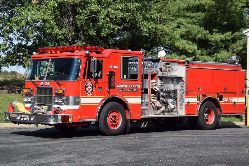 North Branch Fire Company Engine 49-4
