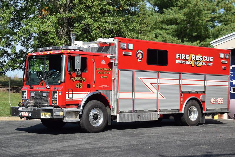 North Branch Fire Company Rescue 49