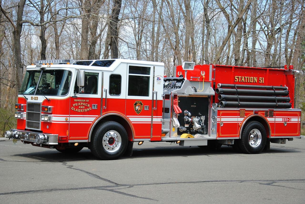 Pepack & Gladstone Fire Department, Pepack Engine 51-3