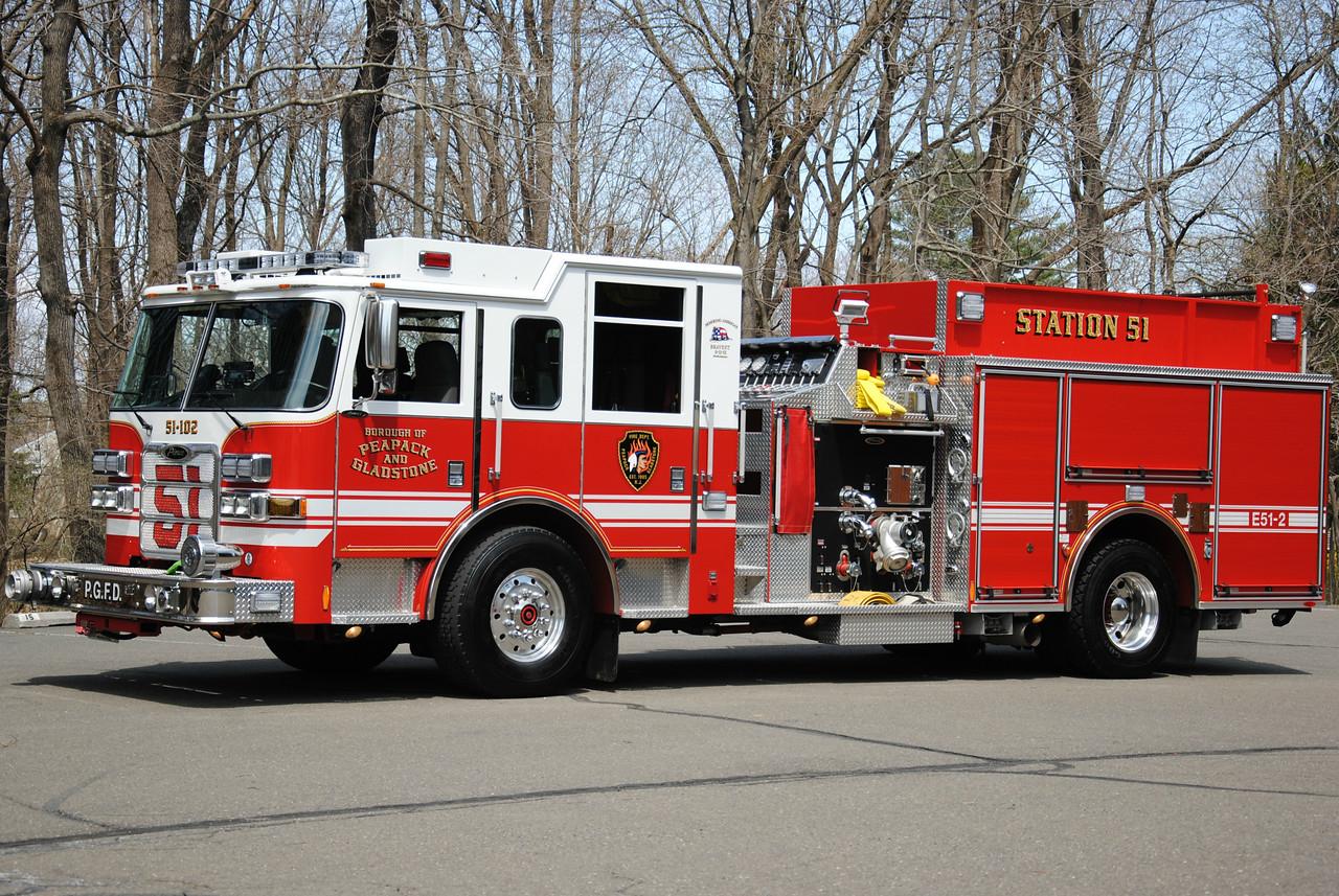Pepack & Gladstone Fire Department, Pepack Engine 51-2
