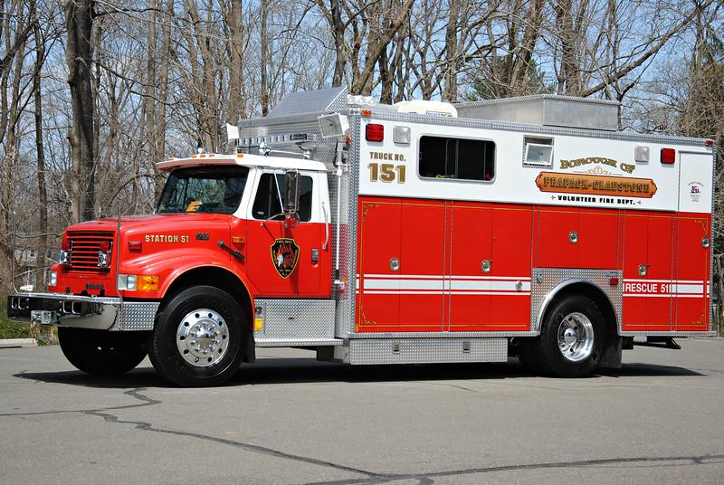 Pepack & Gladstone Fire Department Rescue 51