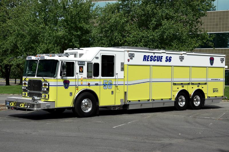Somerset Fire & Rescue  Heavy Rescue 56