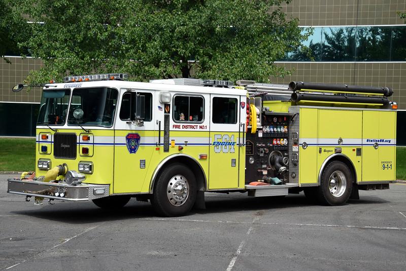 Ex Somerset Fire &Rescue Engine 56-1
