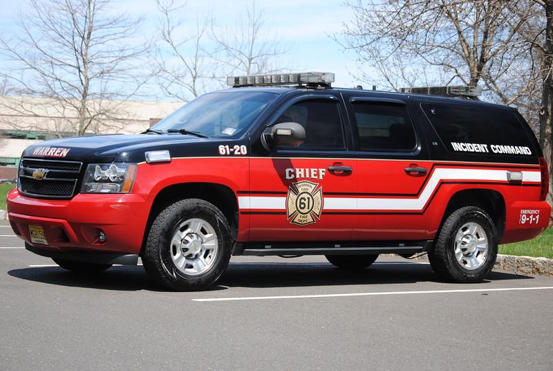 Mt Bethel Fire Company Car 61