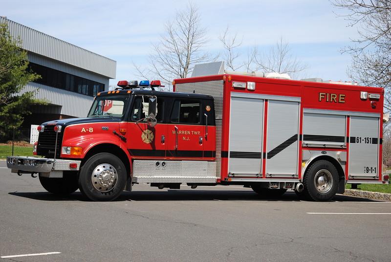 Mt Bethel Fire Company, Warren Twp Rescue 61-151