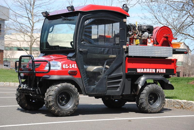 Mt Horeb Fire Company, Warren Twp Brush 61