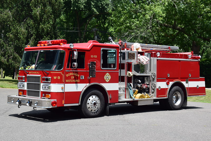Watchung Fire Department Engine 8