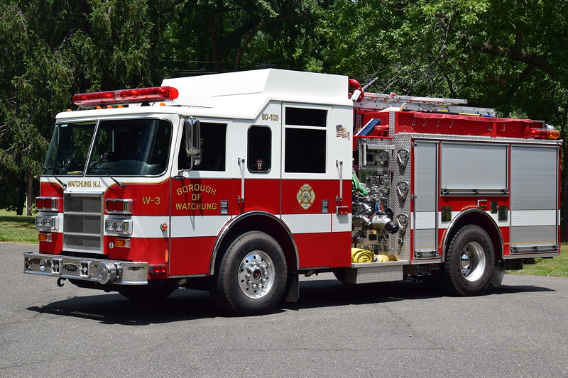 Watchung Fire Department Engine 3