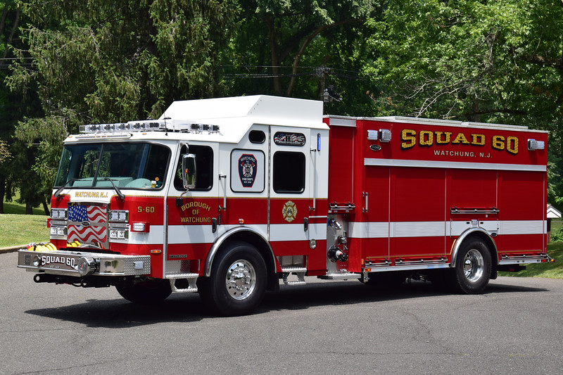 Watchung Fire Department Squad 60