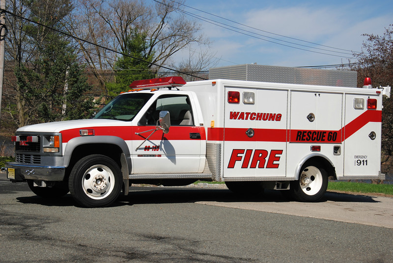 Ex Watchung Fire Department Rescue 60