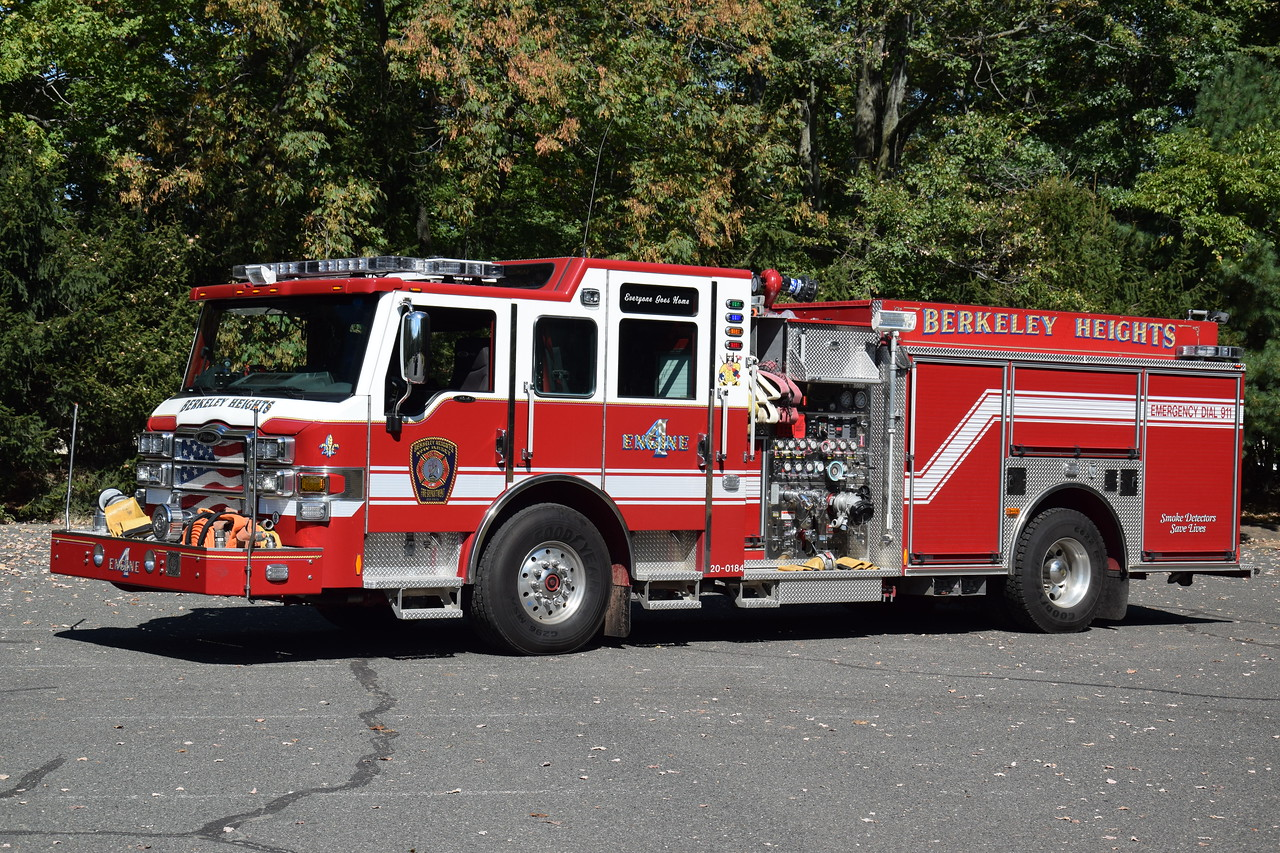 Berkeley Heights Fire Department Engine 4