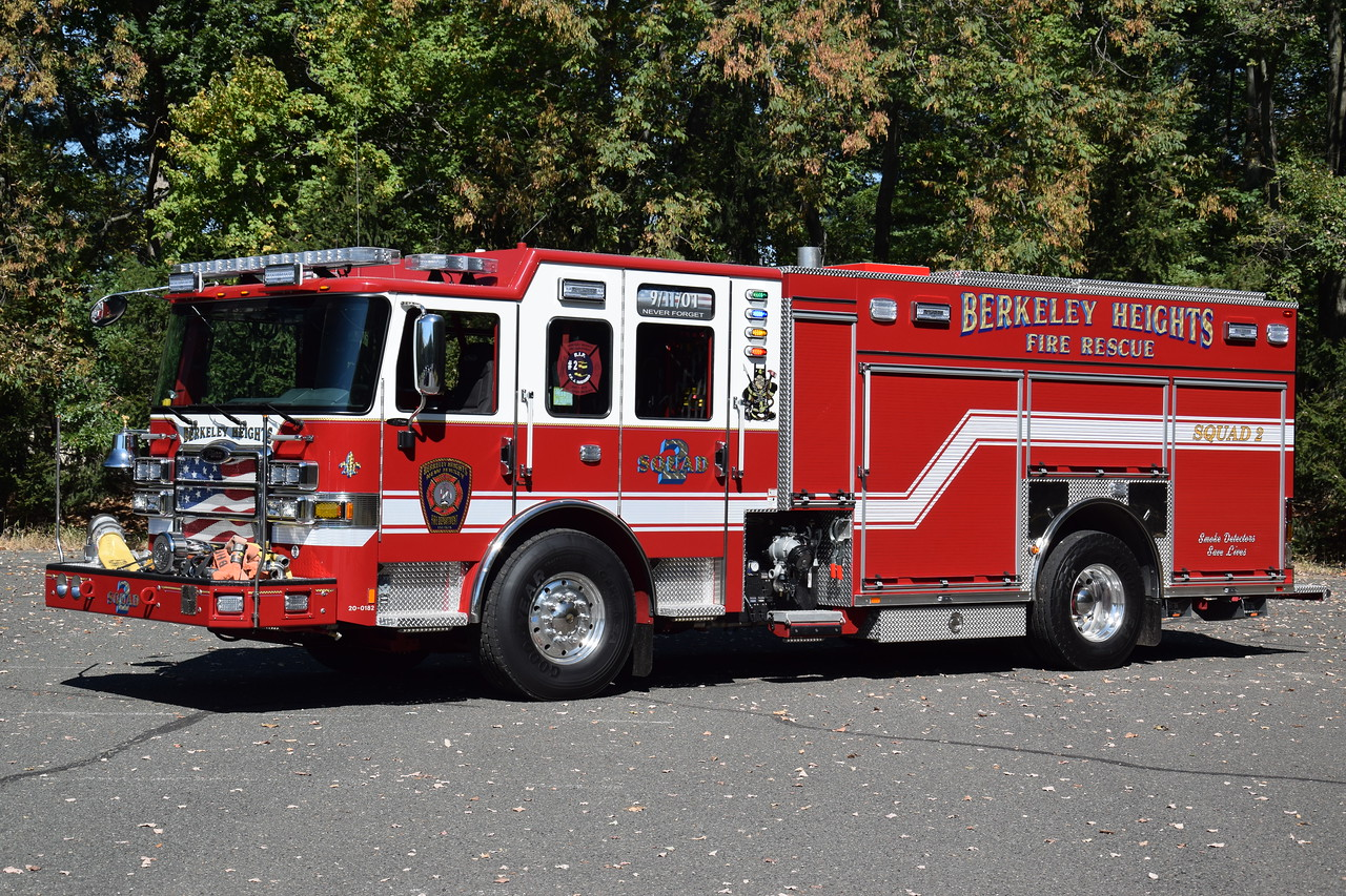 Berkeley Heights Fire Department Squad 2
