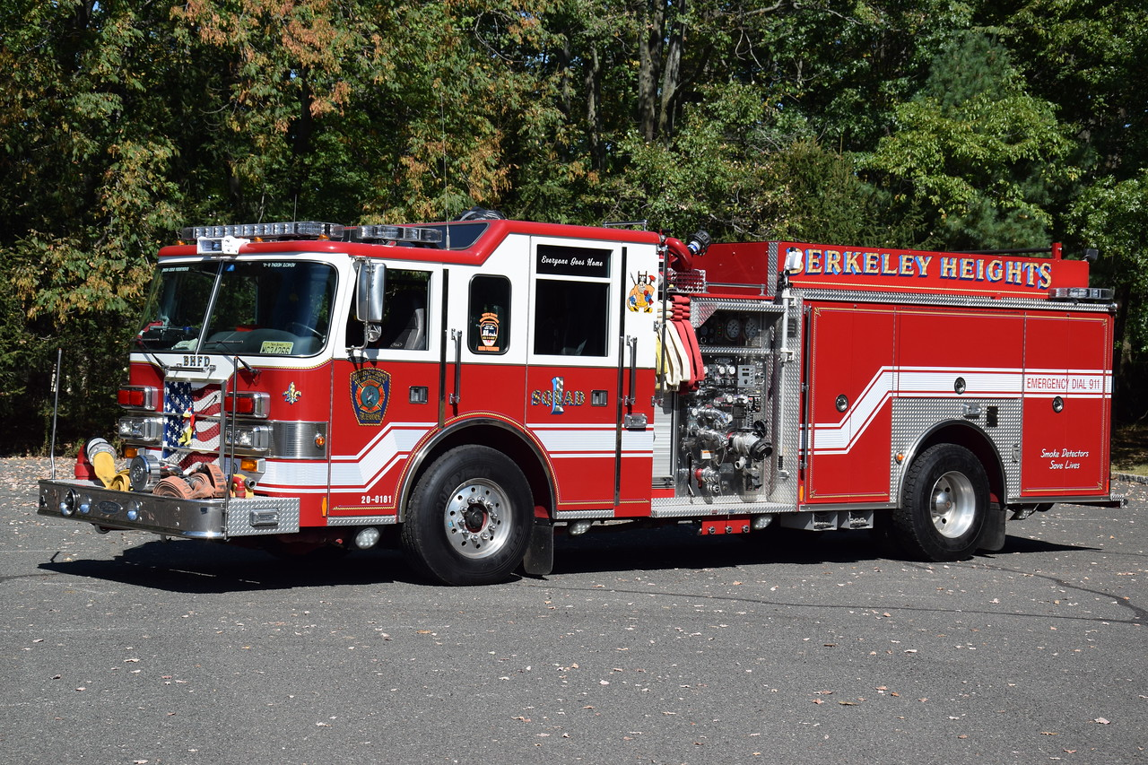 Berkeley Heights Fire Department Squad 1