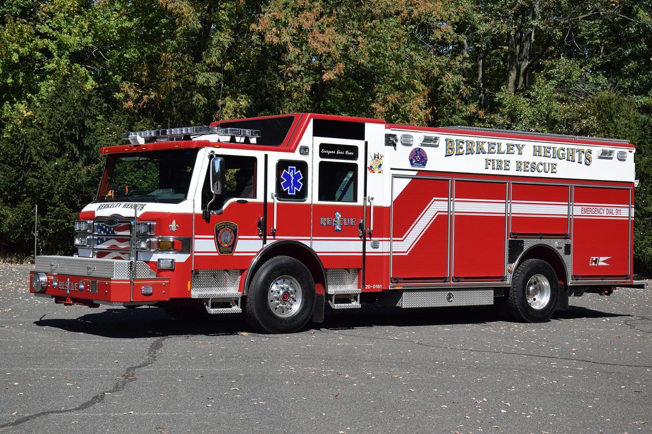 Berkeley Heights Fire Department Rescue 1