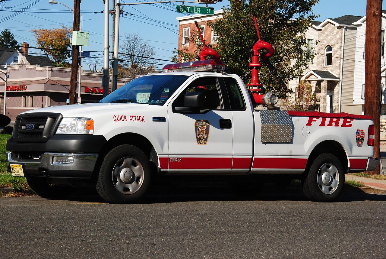 Elizabeth Fire Department, Elizabeth Quick Attack