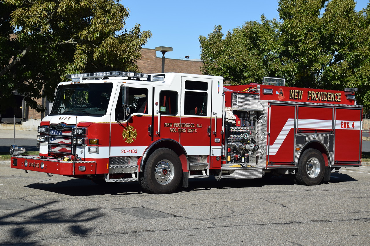 New Providence Fire Depatment Engine 4