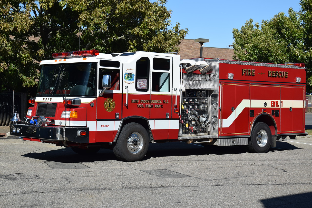 New Providence Fire Depatment Engine 1
