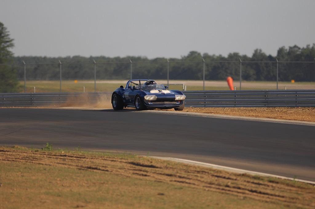 63 Corvette - Off Track