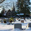 Ewing Cemetery after the snowstorm of December 2010  The best of the bracketed set for HDR #54.