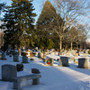 Ewing Cemetery after the snowstorm of December 2010  The best of the bracketed set for HDR #60.