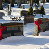 Ewing Cemetery after the snowstorm of December 2010