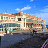 The Grand Arcade and Convention Hall on the Boardwalk in Asbury Park, NJ.