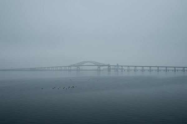 Newark Bay Bridge & The Hackensack River