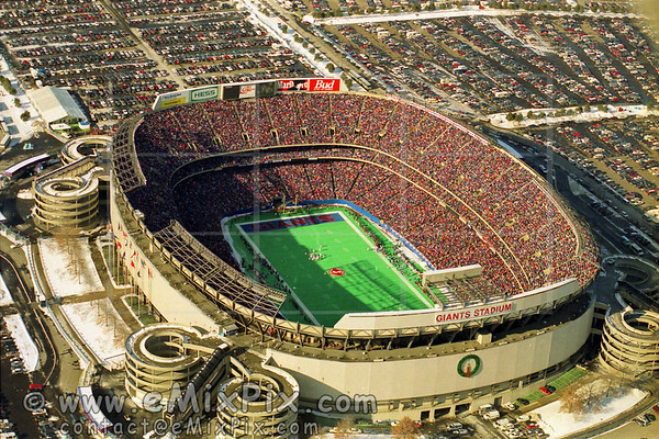 Giants Stadium game, Jan 9, 1994 Aerial Photos - image 8 of 24
