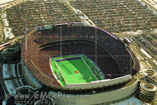 Giants Stadium game, Jan 9, 1994 Aerial Photos - image 1 of 24