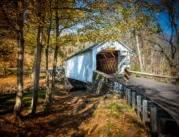 Covered Bridge, Bucks County, PA.