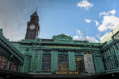Lackawanna R. R. Waiting Room, Hoboken, New Jersey  day 18/365 for my 2013 daily photo journal