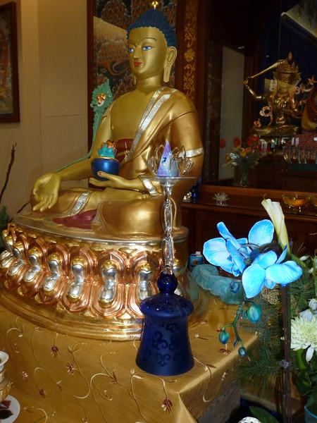 Medicine Buddha at NY Temple