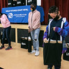 Amani Webbe, 9 on right, of Fitchburg looks over his new Dell Inspiron laptop at the Boys & Girls Club of Fitchburg and Leominster on Monday afternoon. 100 laptops were donated by Comcast, 75 went to the club in Leominster and 25 went to the club in Gardner. SENTINEL & ENTERPRISE/JOHN LOVE