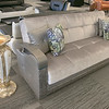 A new furniture store called Sam's Furniture & Liquidation Outlet has opening in the former Shaw's Supermarket space in Leominster. one of the many couches they sell in the store. SENTINEL & ENTERPRISE/JOHN LOVE