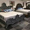 A new furniture store called Sam's Furniture & Liquidation Outlet has opening in the former Shaw's Supermarket space in Leominster. Some of the beds they sell. SENTINEL & ENTERPRISE/JOHN LOVE