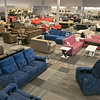 A new furniture store called Sam's Furniture & Liquidation Outlet has opening in the former Shaw's Supermarket space in Leominster. A view of the store and some of the furniture. SENTINEL & ENTERPRISE/JOHN LOVE