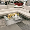 A new furniture store called Sam's Furniture & Liquidation Outlet has opening in the former Shaw's Supermarket space in Leominster. One of the couches they sell. SENTINEL & ENTERPRISE/JOHN LOVE