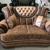 A new furniture store called Sam's Furniture & Liquidation Outlet has opening in the former Shaw's Supermarket space in Leominster. A love seat they sell. SENTINEL & ENTERPRISE/JOHN LOVE