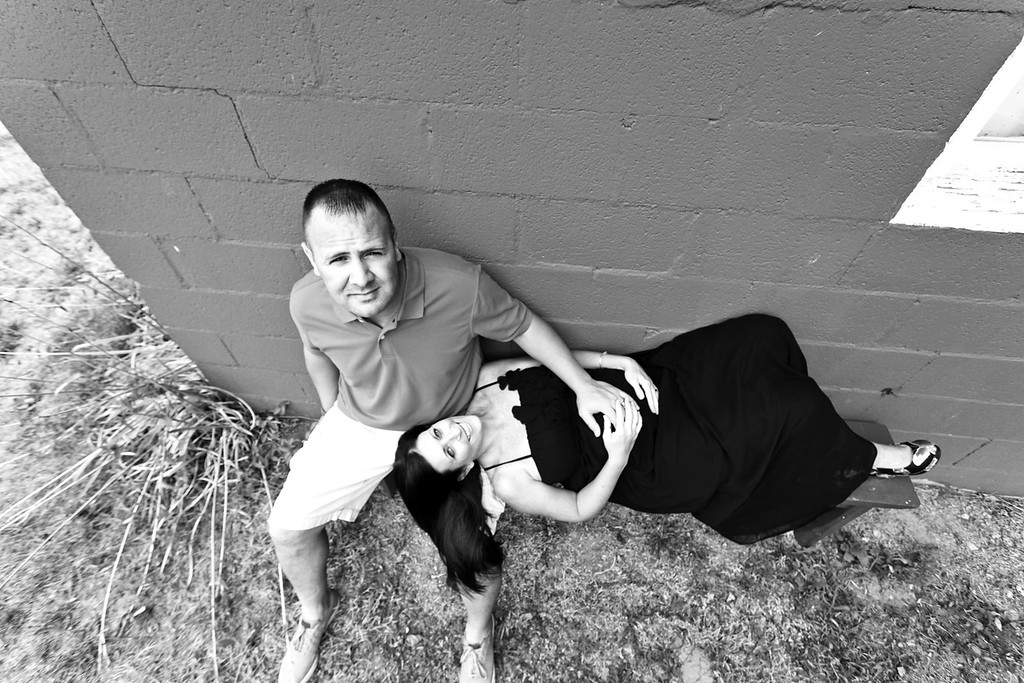 Doug and Manden 7-2012-37b&w