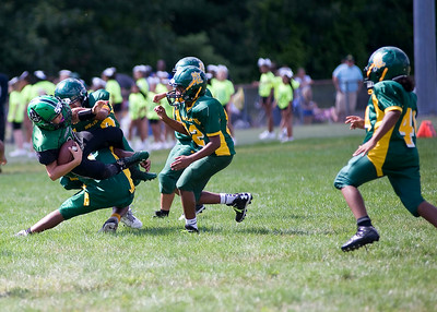 New London @ Griswold youth football 8-23
