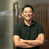 The new Lognsjo Middle School Principal Shigehito Tanaka, July 31, 2019 SENTINEL & ENTERPRISE/JOHN LOVE