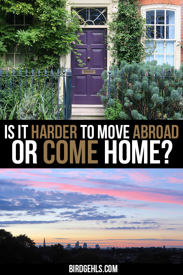 Moving abroad is hard, there's no denying that. Yet, is it possibly harder to come home and resume your life as it once was? / Expat Life / #Expat /