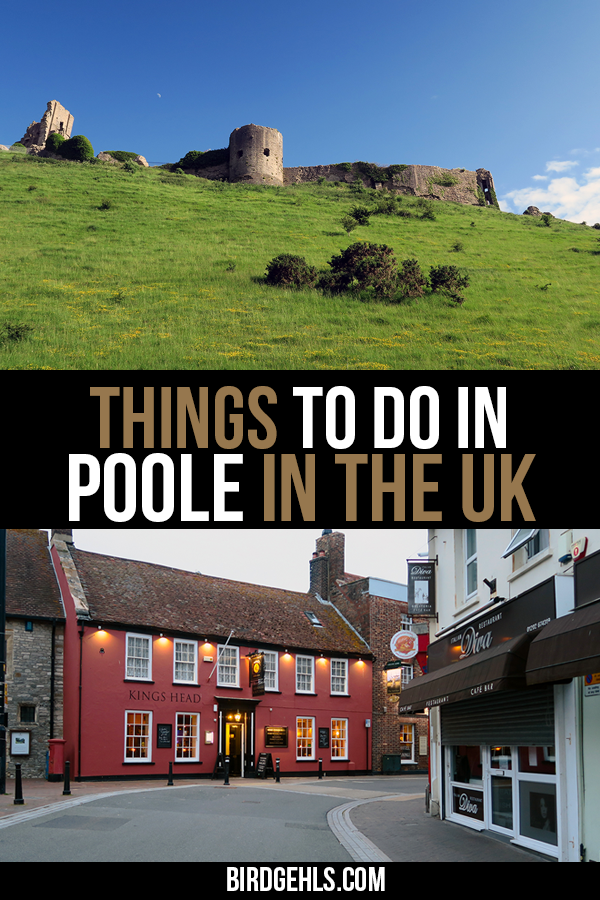 Here are some things to do in #Poole in the United Kingdom - a cute coastal town with one of the biggest natural harbours in the world. You can also find out what's on offer in the county of #Dorset, which is filled with both man-made and natural history. / Things to do in England / #England Itinerary / Things to do in the UK / #UnitedKingdom / #LoveGreatBritain /