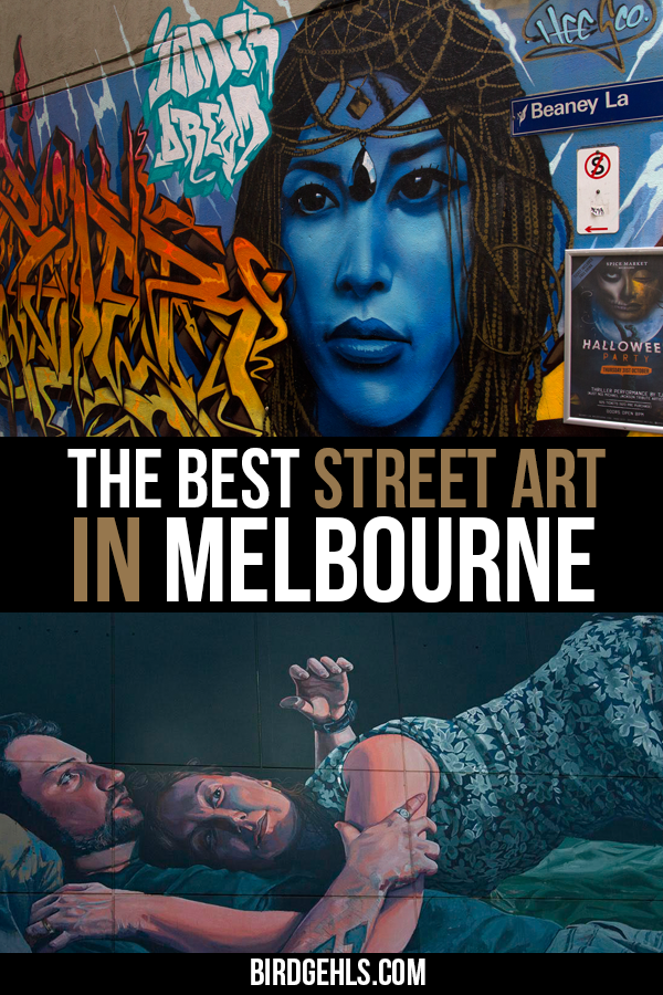 The city really does feel like a living and breathing canvas at times. Here's an extensive guide to the street art in Melbourne's CBD, complete with map. Find out the laneways worth visiting, learn about the artists behind the works and discover which are generally free from tourists. Included are suggestions for where to grab a drink or a coffee nearby. #Melbourne / Things to do in Melbourne / Melbourne attractions / What to do in Melbourne / #VisitMelbourne / #VisitVictoria /