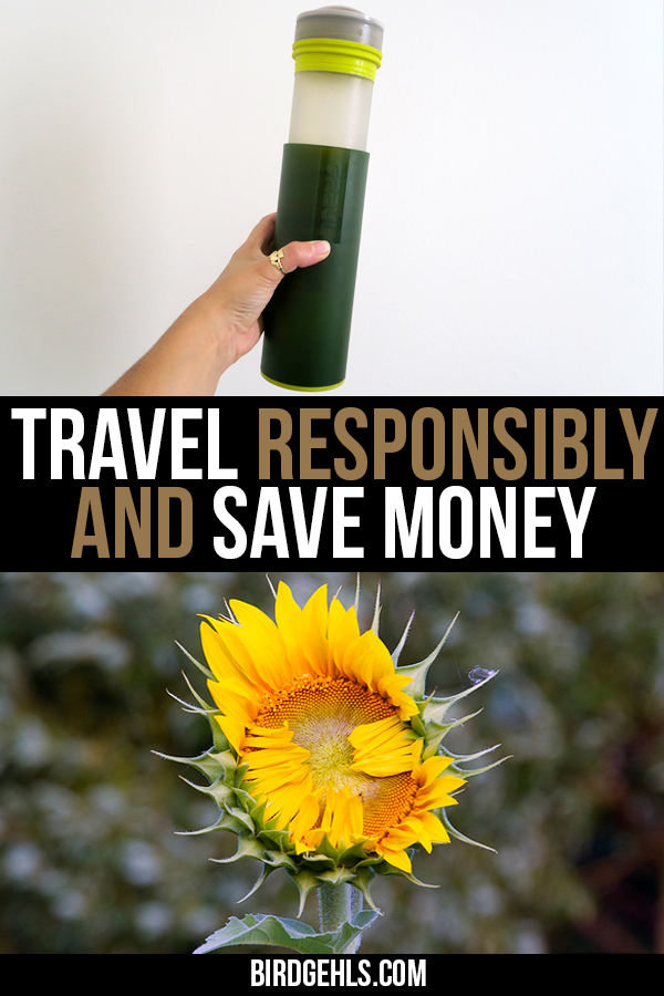 Ethical travel doesn't always have to be altruistic! You can save money and still be a responsible traveller. Here are twenty ways how. / #SustainableTravel / #EcoTravel / #ResponsibleTravel / #EthicalTravel / #GreenTravel /